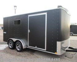 #14155 - 2018 Haulmark Transport 7x16 Enclosed Cargo Trailer