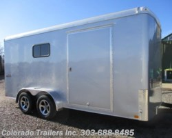 #14154 - 2018 Haulmark Transport 7x16 Enclosed Cargo Trailer