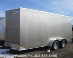 #13841 - 2017 Haulmark Passport 7x16+V Enclosed Cargo Trailer