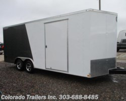 #14163 - 2018 Wells Cargo FastTrac 8.5x20+ V Enclosed Cargo Trailer