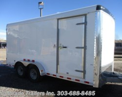 #14268 - 2018 Cargo Craft Expedition 7x16 Enclosed Cargo Trailer