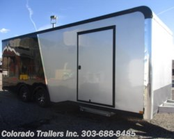 #14252 - 2018 Haulmark 8.5x24 Aluminum Enclosed Cargo Trailer