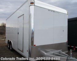 #14253 - 2018 CargoPro Stealth 8.5x20 Aluminum Auto Enclosed Cargo Trailer