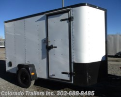 #14282 - 2018 Cargo Craft Elite V Sport 6x12 Enclosed Cargo Trailer