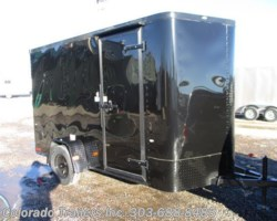 #14281 - 2018 Cargo Craft Elite V Sport 6x12 Enclosed Cargo Trailer