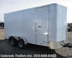 #14289 - 2018 Cargo Craft Elite V 7x16 Enclosed Cargo Trailer