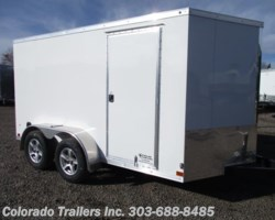 #14318 - 2018 Haulmark General 7x12+V Enclosed Cargo Trailer