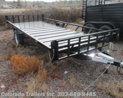 #14328 - 2018 Echo Trailers Elite EE 14-14 Utility Trailer