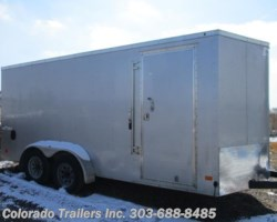 #14283 - 2017 Haulmark Used 7x16 Enclosed Cargo Trailer