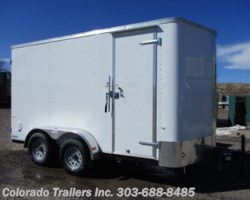 #14356 - 2018 Cargo Craft Elite V 7x14 Enclosed Cargo Trailer