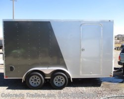 #14377 - 2018 Wells Cargo 7x14+V Enclosed Cargo Trailer