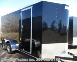 #14370 - 2018 Haulmark Passport 7x16+V Enclosed Cargo Trailer