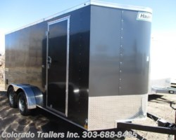 #14368 - 2018 Haulmark Passport 7x16+V Enclosed Cargo Trailer