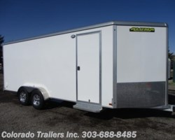 #14413 - 2019 Aluma AE718TAR 7x18 Enclosed Cargo Trailer