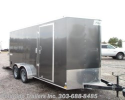 #14414 - 2018 Haulmark Passport 7x16+V Enclosed Cargo Trailer