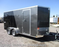 #14420 - 2018 Haulmark Passport 7x16+V Enclosed Cargo Trailer