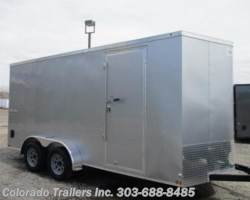 #14433 - 2018 Haulmark Passport 7x16+V Enclosed Cargo Trailer