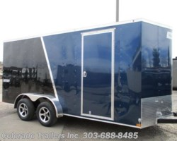 #14434 - 2018 Haulmark Passport 7x16+V Enclosed Cargo Trailer