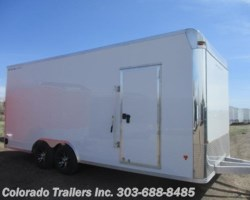 #14435 - 2018 SnoPro 8.5x20 Aluminum Enclosed Cargo Trailer