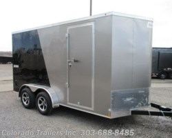 #14432 - 2018 Haulmark Passport 7x14+V Enclosed Cargo Trailer