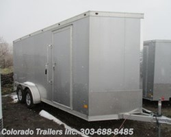 #14436 - 2018 Haulmark ALX 7x18+V All Aluminum Enclosed Cargo Trailer