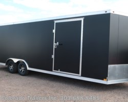#14490 - 2018 Haulmark ALX 8.5x24 All Aluminum Enclosed Cargo Trailer