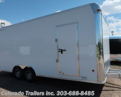 #14477 - 2018 CargoPro Stealth 8.5x20 Aluminum Auto Enclosed Cargo Trailer