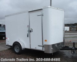 #14492 - 2018 Cargo Craft Elite V 7x12 Enclosed Cargo Trailer