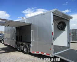 #14495 - 2018 CargoPro Stealth 8.5x28 Aluminum Auto Enclosed Cargo Trailer