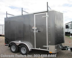 #14503 - 2018 Cargo Craft 7x14+V Enclosed Cargo Trailer