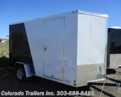 #14519 - 2018 Haulmark General 6x12+V Enclosed Cargo Trailer