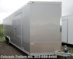 #14522 - 2018 Haulmark ALX 8.5x24+V All Aluminum Enclosed Cargo Trailer