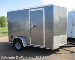 #14541 - 2018 Haulmark General 6x10+V Enclosed Cargo Trailer