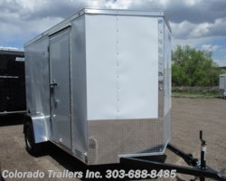#14542 - 2018 Haulmark General 6x10+V Enclosed Cargo Trailer