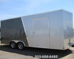 #14591 - 2018 Wells Cargo FastTrac 8.5x20+V Enclosed Cargo Trailer