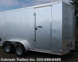 #14590 - 2018 Haulmark Passport 7x14+V Enclosed Cargo Trailer