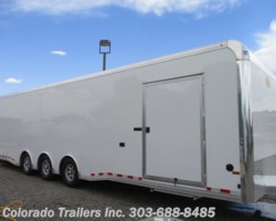 #14643 - 2019 Sundowner Cargo 8.5x32 Aluminum Cargo Trailer with full bathroom