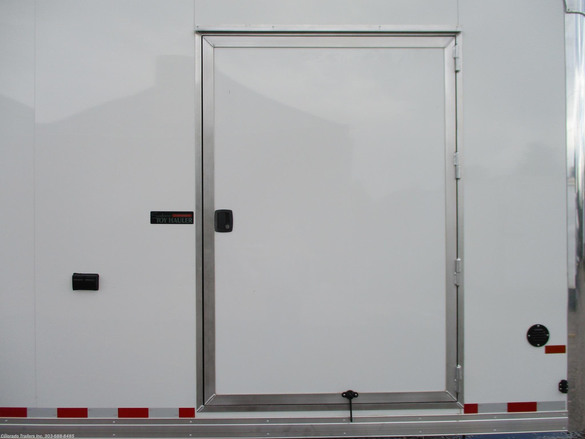 14643 2019 Sundowner Cargo 85x32 Aluminum Cargo Trailer With Full