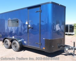 #14626 - 2018 Cargo Craft Elite V Sport 7x16 Insulated Enclosed Cargo Trailer