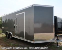 #14638 - 2018 Haulmark 8.5x20 Aluminum Enclosed Cargo Trailer