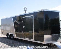 #14637 - 2018 Haulmark 8.5x24 Aluminum Enclosed Cargo Trailer