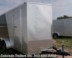 #14635 - 2018 Wells Cargo 7x14+V Enclosed Cargo Trailer