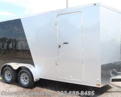 #14658 - 2018 Wells Cargo 7X16+V Enclosed Cargo Trailer