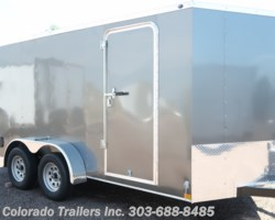 #14659 - 2019 Wells Cargo 7X14+V Enclosed Cargo Trailer
