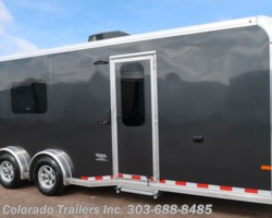 #15117 - 2020 Sundowner 7.5x22 Aluminum Cargo Trailer with full bathroom!