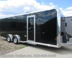 #15283 - 2020 Sundowner 7.5x22 Aluminum Cargo Trailer with full bathroom!