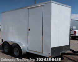 #14667 - 2018 Haulmark 7X12+V Enclosed Cargo Trailer