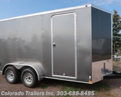 #14666 - 2019 Wells Cargo 7X14+V Enclosed Cargo Trailer