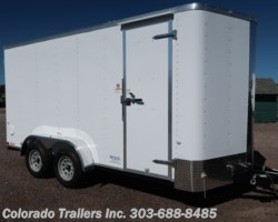 #14702 - 2019 Cargo Craft Elite V Sport 7x16 Cargo Trailer with barn doors