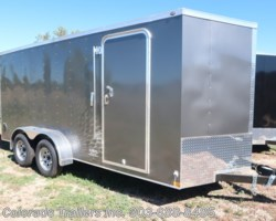 #14717 - 2019 Wells Cargo 7x16+V Enclosed Cargo Trailer